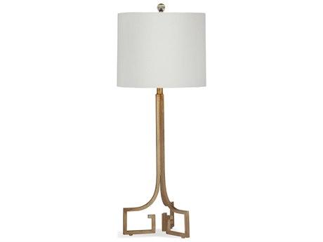 Bassett Mirror Delphine Gold Leaf Buffet Lamp BAL3195TEC