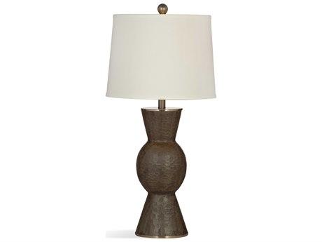 Bassett Mirror Diego Dark Brown Cement Buffet Lamp BAL3238TEC