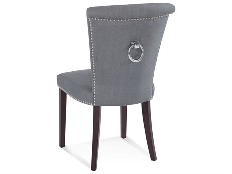 Bassett Mirror Charcoal / Dark Espresso Side Dining Chair (Sold in 2)