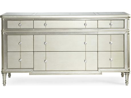 Bassett Mirror Eliana Soft Champagne 8 Drawers or more Chest of BA3245BR910EC
