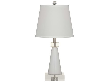 Bassett Mirror Gayle White Table Lamp BAL3229TEC