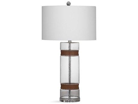 Bassett Mirror Glass Clear Buffet Lamp BAL3535T