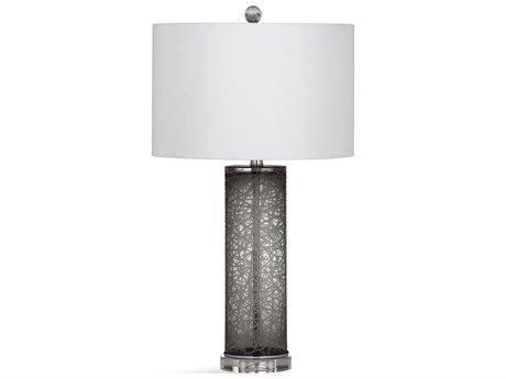 Bassett Mirror Glass Grey / Clear Buffet Lamp BAL3566T