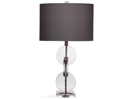 Bassett Mirror Glass Crystal Buffet Lamp BAL3568T