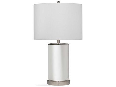 Bassett Mirror Glass Mercury with Chrome Buffet Lamp BAL3574T