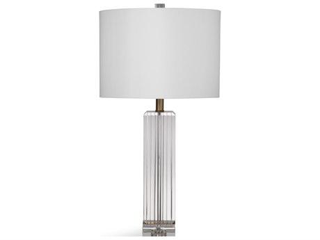 Bassett Mirror Glass Clear Crystal Buffet Lamp BAL3728T