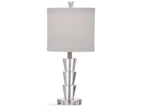 Bassett Mirror Glass Crystal Table Lamp BAL3485T