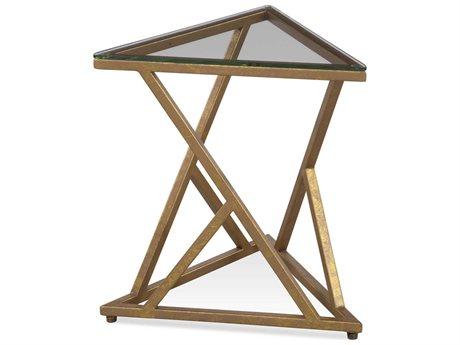 Bassett Mirror Gravatt Lux Gold 15'' Wide End Table