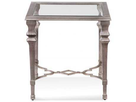 Bassett Mirror Hollywood Glam Sylvia 24 x 24 Square End Table BA1212250EC