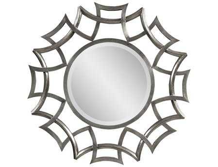 Bassett Mirror Hollywood Glam 40 x 40 Mercury Orlando Wall Mirror BAM3401BEC