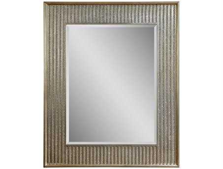 Bassett Mirror Hollywood Glam 36 x 44 Champagne Bling Wall Mirror BAM3473BEC