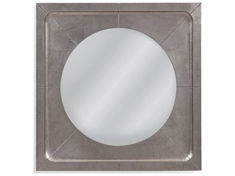 Bassett Mirror Kemp Antique Silver Leaf Wall BAM4216