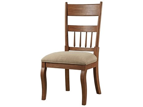 Bassett Mirror Kinzie Rustic Pine Side Dining Chair