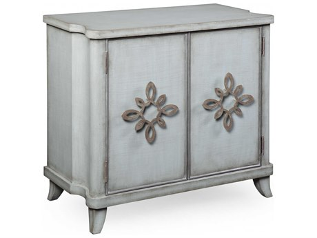 Bassett Mirror Miramar Bathe Blue Accent Chest BAA2444EC