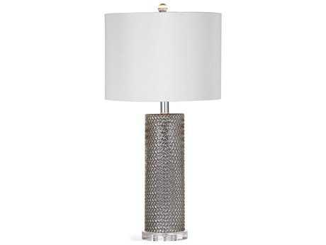 Bassett Mirror Nina Mercury Glass Table Lamp BAL3336TEC