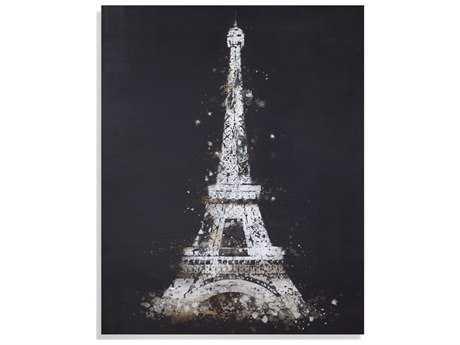 Painting Bassett Mirror Old World ''Eiffel Tower'' Painting BA7300311EC