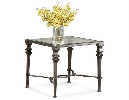 Bassett Mirror Old World 28 Square Burnished Bronze Lido End Table BAT1210250EC