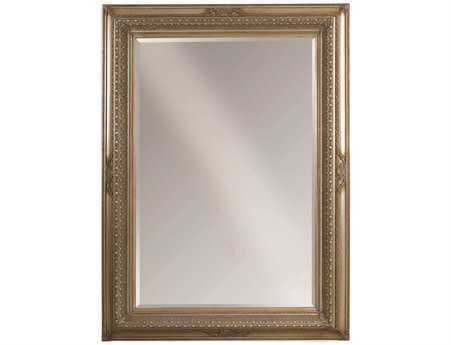 Bassett Mirror Old World 66 x 90 Antique Silver Castello Leaner Mirror BA63571242EC