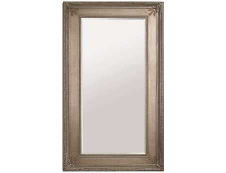 Bassett Mirror Old World 54 x 96 Antique Silver Prazzo Leaner Mirror