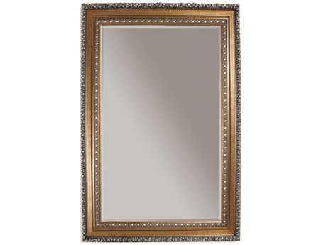 Bassett Mirror Old World 63 x 87 Gold Leaf Amadeus Leaner Mirror BAM2244BEC
