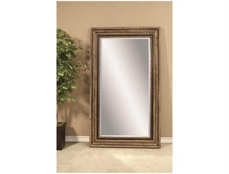 Bassett Mirror Old World 50 x 86 Antique Gold Sergio Leaner Mirror