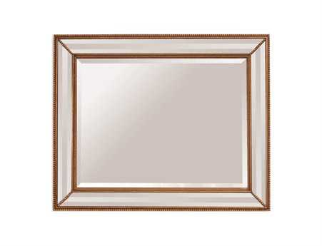 Bassett Mirror Old World 50 x 40 Antique Gold La Scala Wall Mirror