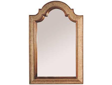 Bassett Mirror Old World 28 x 45 Silver & Gold Leaf Excelsior Wall Mirror BA6331032EC