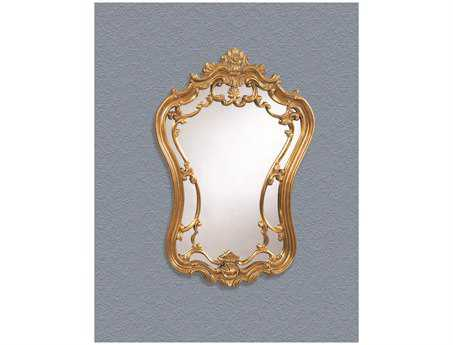 Bassett Mirror Old World 24 x 35 Gold Leaf Hermosa Wall Mirror BAM2968EC