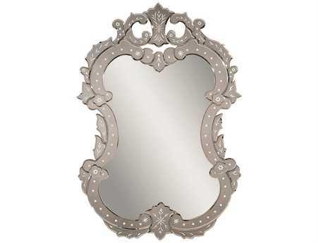 Bassett Mirror Old World 28 x 40 Glass Venetian II Wall Mirror BAM3233EC