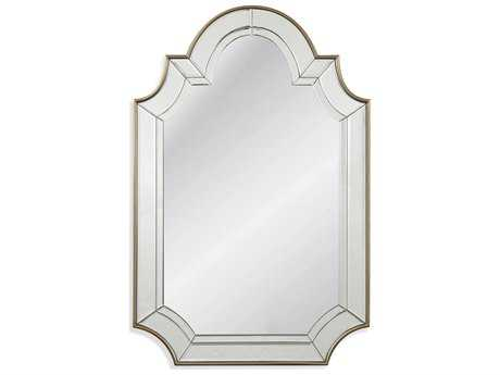 Bassett Mirror Old World Phaedra 30'' x 46'' Champagne Wall Mirror BAM3676EC