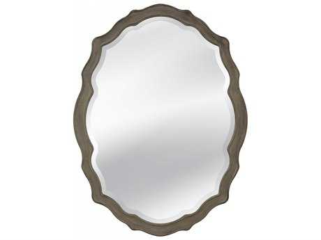 Bassett Mirror Old World 24 x 25 Barrington Wall Mirror BAM3702BEC
