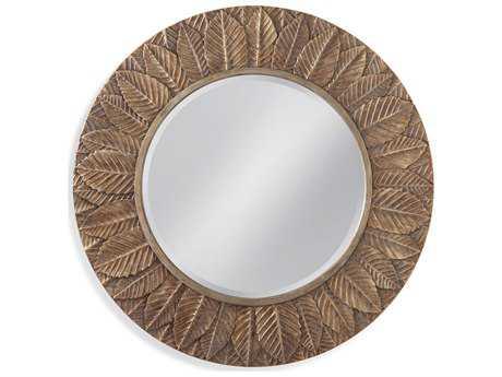 Bassett Mirror Old World 38'' Round Lena Wall Mirror BAM3813BEC