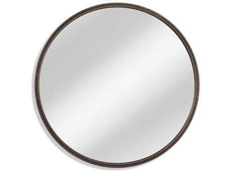 Bassett Mirror Old World Hawthorne 48'' Bronze Wall Mirror BAM3991EC