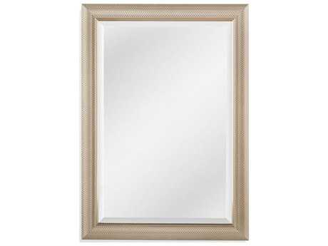 Bassett Mirror Old World Grace 30'' x 42'' Dark Silver Wall Mirror BAM4032BEC