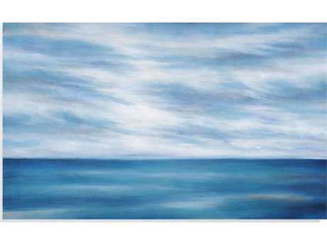 Painting Bassett Mirror Pan Pacific ''In To the Blue'' Painting BA7300318EC