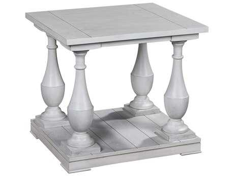Bassett Mirror Pan Pacific Holden 24 x 25 Rectangular End Table