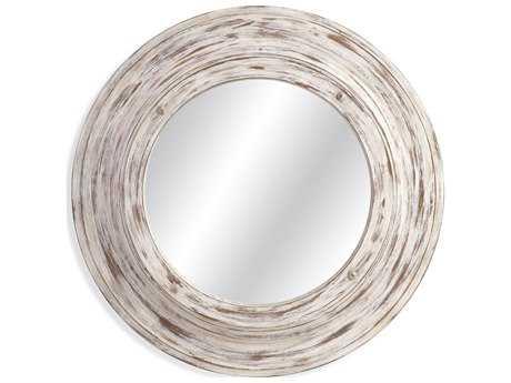 Bassett Mirror Pan Pacific 36'' Round Mallory Wall Mirror BAM3745EC