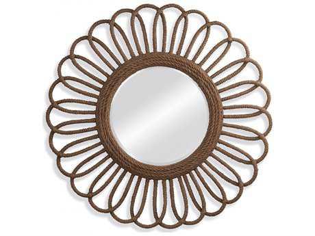 Bassett Mirror Pan Pacific 50'' Round Naples Wall Mirror BAM3843BEC