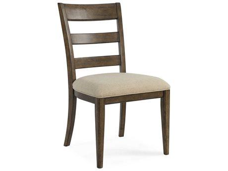 Bassett Mirror Paxton Medium Brown Side Dining Chair BA3237DR800EC