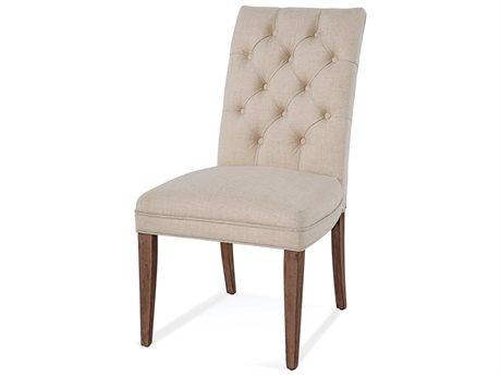 Bassett Mirror Paxton Medium Brown Side Dining Chair BA3237DR803