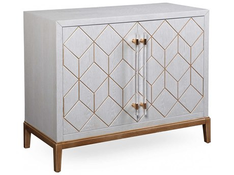 Bassett Mirror Perrine 41'' x 18'' Hospitality Cabinet BAA2430EC