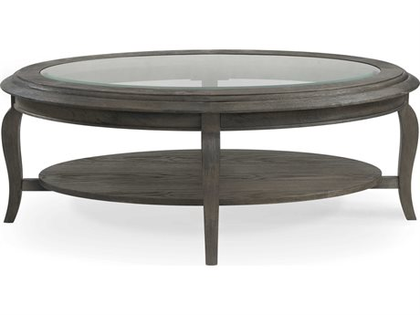 Bassett Mirror Raiden Coffee Bean 48'' Wide Oval Table