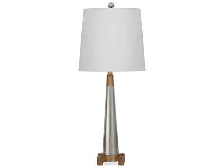 Bassett Mirror Rexford Crystal / Gold Leaf Buffet Lamp BAL3196TEC