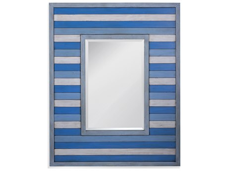 Bassett Mirror Sanders Blue Wall BAM4332