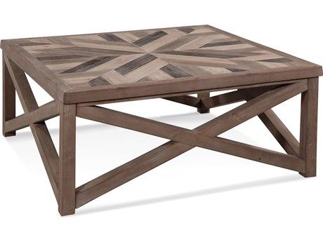 Bassett Mirror Schyuler Natural Wood 42'' Wide Square Coffee Table BA3480LR130