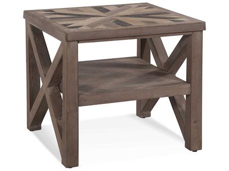 Bassett Mirror Schyuler Natural Wood 24'' Wide Square End Table BA3480LR250