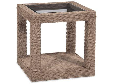 Bassett Mirror Shipley Natural Jute 24'' Wide Square End Table BA4350LR250