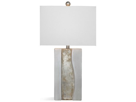Bassett Mirror Stone Cement Buffet Lamp BAL3532T