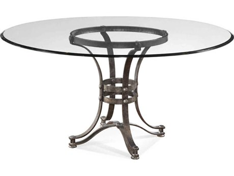 Bassett Mirror Tempe 27'' Wide Round Dining Table BAD2660700EC