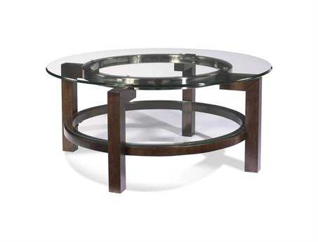 Bassett Mirror Thoroughly Modern 38 Round Oslo Cocktail Table BAT1705120EC
